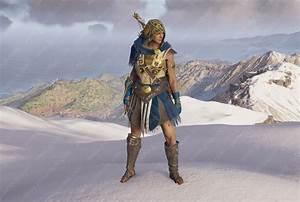 AC Odyssey Athenian War Hero Set Legendary Armor