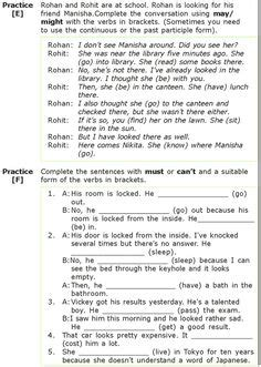 English Grammar Omission Exercises For Class 7