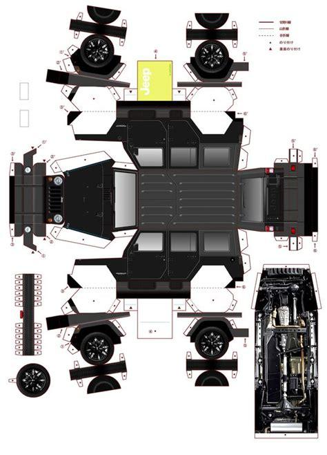 halo theme jeep jeep paper car paper fun toys pinterest papier