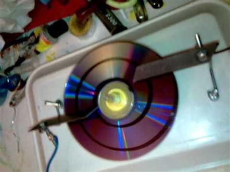 fabriquer un range cd moteur electrostatique 224 cd