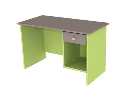 caisson bureau vert anis