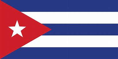 Flag Cuba Triangle National Horizontal Three Britannica