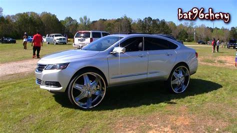30 inch rims on impala 2015 chevrolet impala ltz on 30