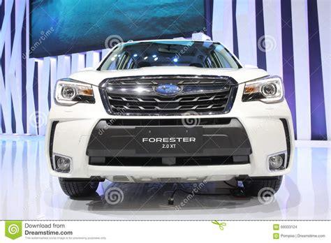 subaru white car bangkok march 31 subaru forester 2 0 xt on white car