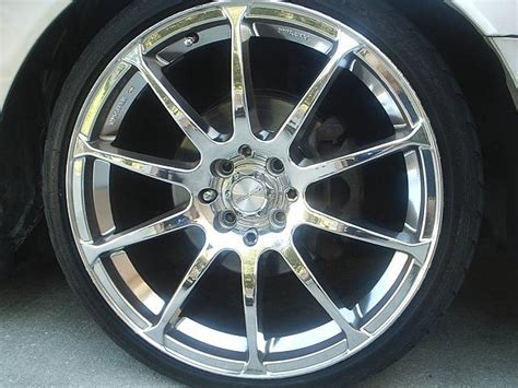 Fs Chrome 18'inch Rims (used Wno Tires