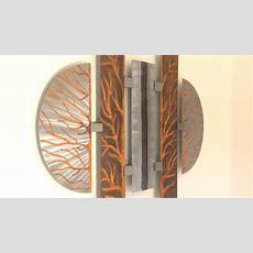 Abstrakte Kunst Aus Metall  Moderne Wandbilder Für Den