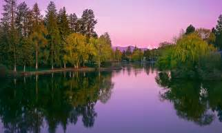 Mirror Pond Bend Oregon