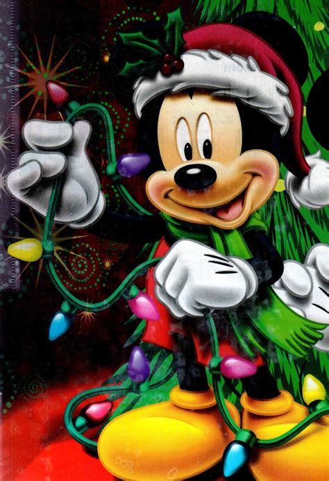 mickey mouse fixing the christmas lights disney mickey