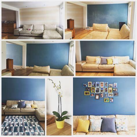 transforming lounge teal mustard farrowandball ikea rug