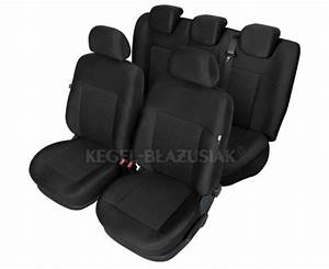 Duster   Dokker   Lodgy - Seat Covers Poseidon - Black