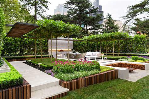 terrace garden design pictures stylish modern garden and terrace design by nathan burkett digsdigs