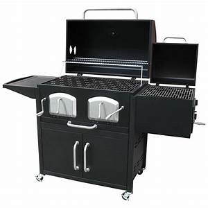 Landmann Bravo Premium Charcoal Grill with Offset Smoker ...