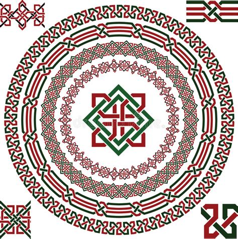 Celtic border stock vector. Illustration of element ...