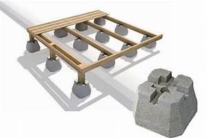 Pose Lame Terrasse Composite : aidez moi choisir la m thode de pose terrasse composite ~ Premium-room.com Idées de Décoration