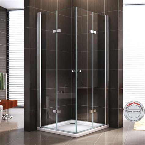 duschkabine schwingtuer duschabtrennung dusche falttuer