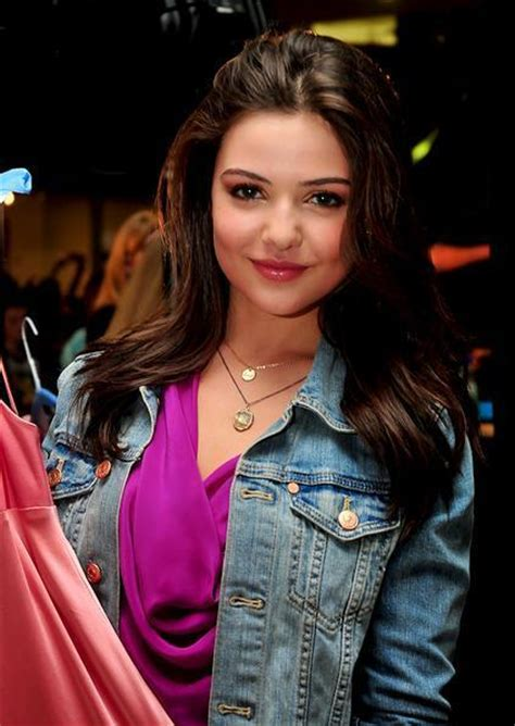 danielle campbell bra size age weight height
