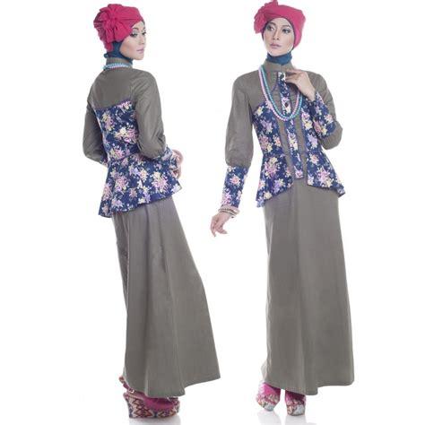 20 model gamis terbaru wanita muslimah