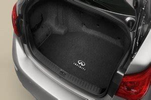amazon com oem infiniti carpeted trunk mat black with