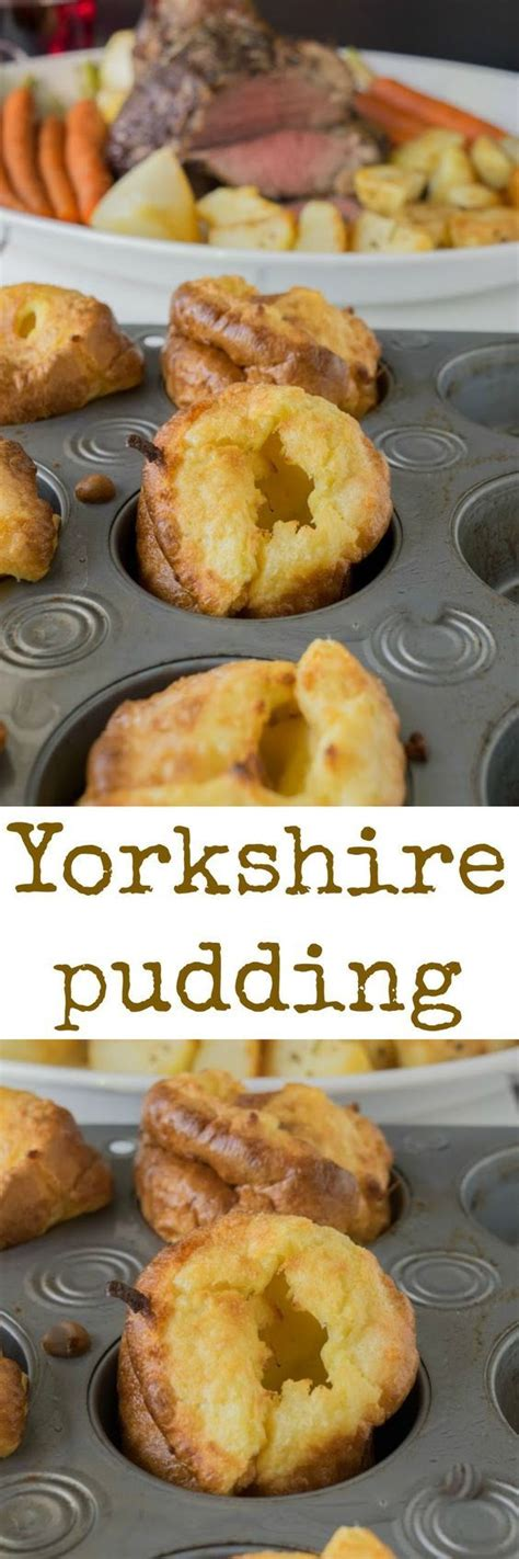 Yorkshire Pudding Recipe | Recipe in 2020 | Yorkshire ...
