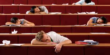 Dear College Students  Stop Bragging About Not Getting Enough Sleep      Sleeping Student In Class
