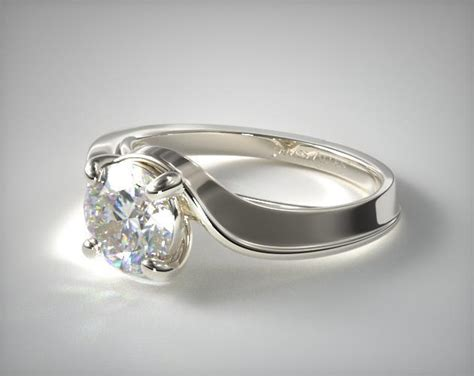 Regal Halo Engagement Ring