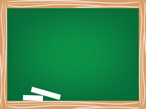 green board green school board powerpoint templates education free ppt backgrounds and templates