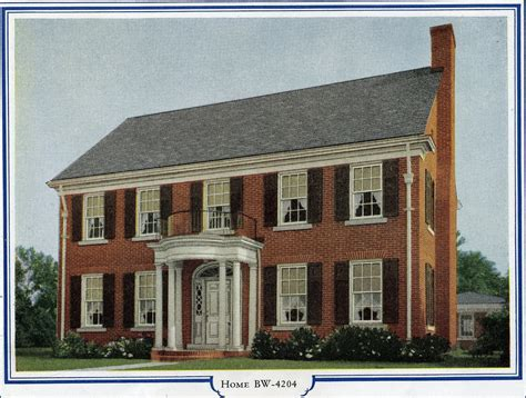 brick colonial house plans bilt well homes of comfort bw 4204 brick colonial revi