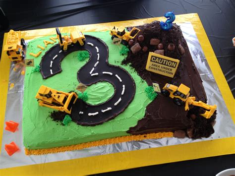 Construction Cake Decorations by Construction Birthday Cake Liam S Birthday