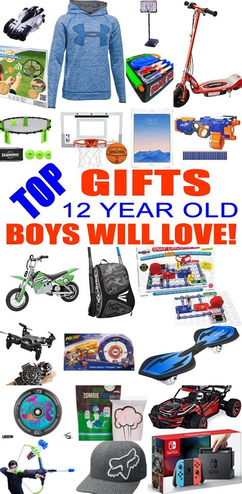 best gifts for 12 year old boys gift suggestions