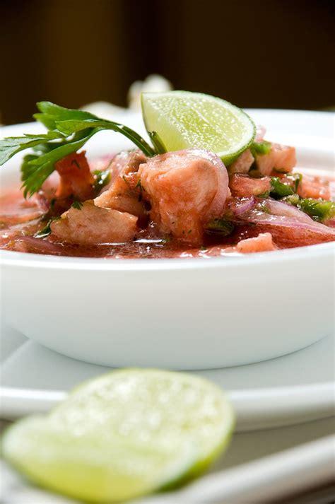 cuisine recette poisson recette ceviche aux deux poissons