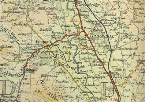 thornhill map