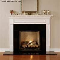 great contemporary fireplace mantel Modern Wood Fireplace Mantels - HouseDesignPictures.com