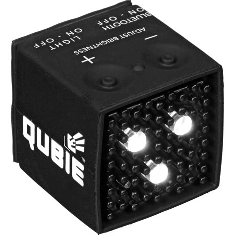 micro led strobe lights ic one two the qubie micro led strobe and video icqb blk v01