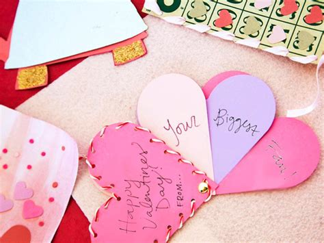 Kids' Craft: Biggest Fan Valentine | HGTV
