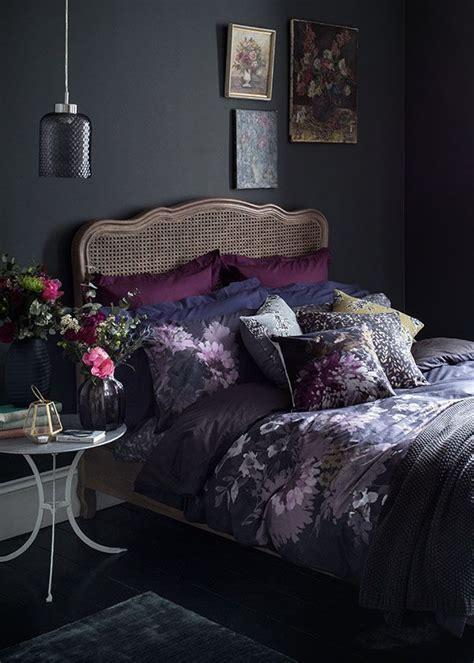 moody floral bedroom idea   lesson  dark romance