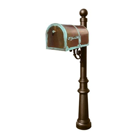 Decorated Mailboxes - qualarc lewiston mailbox collection with decorative ornate