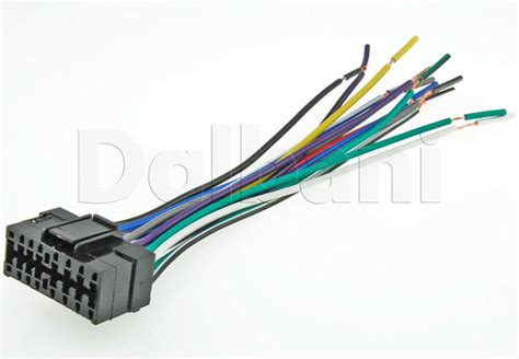 Sony Car Audio Wire Harnes by New Sony 16 Pin Car Radio Stereo Wire Wiring Harness Ebay