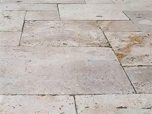 Dallage Travertin Extérieur : les 25 meilleures id es de la cat gorie sol en pierre ~ Edinachiropracticcenter.com Idées de Décoration