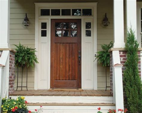 17 Best Ideas About Craftsman Front Doors On Pinterest Countertops Kitchen Lowes Cabinets Mexican Tile Light Fixtures For General Electric Appliances Rom Abc New York City Outdoor Sinks