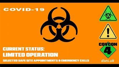 Covid Emergency Pre Alert Level Response Selected