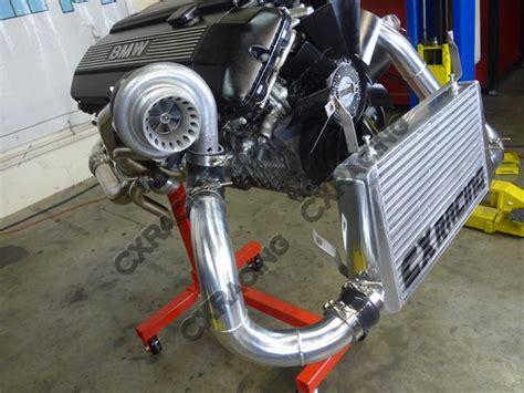Bmw Turbo Kits by Gt35 Turbo Manifold Downpipe Kit For Bmw E46 M52 Engine Na