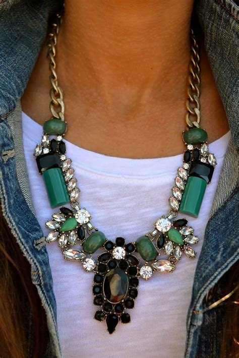 statement necklace outfit ideas  pinterest office attire women casual dressy