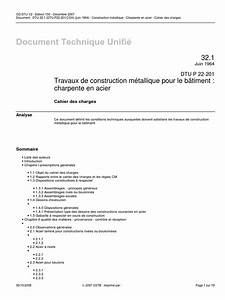 Dtu 37 1 Menuiseries Métalliques : dtu 32 1 construction m tallique charpente en ~ Premium-room.com Idées de Décoration