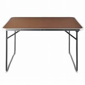 Gartentisch 120 X 70 Alu : alu campingtisch tisch holzoptik gartentisch beistelltisch klapptisch ~ Indierocktalk.com Haus und Dekorationen