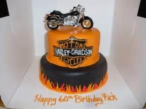 Harley-Davidson Motorcycle Birthday Cake