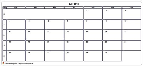 juin  calendrier imprimer   calendar