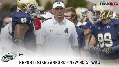 Sanford Kentucky Notre Coach Mike Western Head