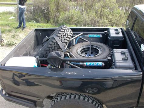 Spare Tire Bed Mounts ?