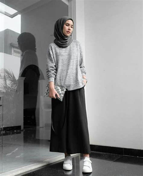 casual hijab outfit ideas  pinterest hijab