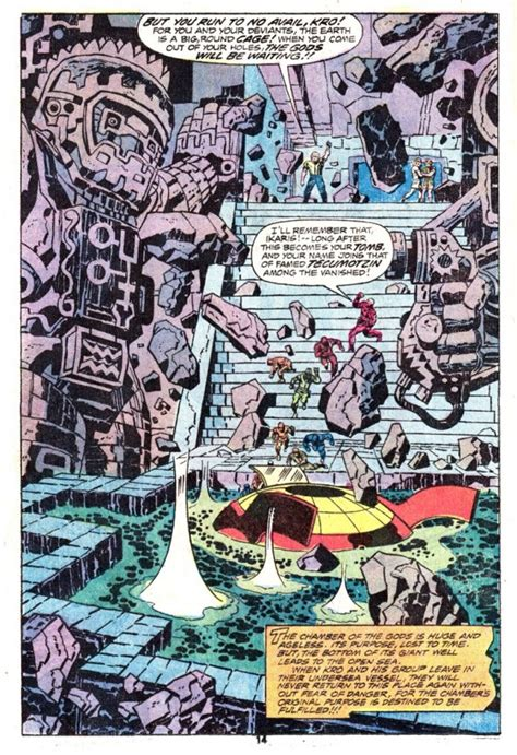 The Eternals #2 [1976] | Jack Kirby Comics Weblog